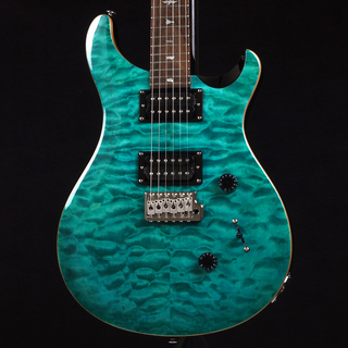 Paul Reed Smith(PRS) SE Custom 24 Quilt Top Maching Head Limited -Aqua-