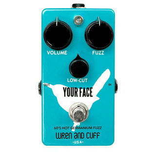 Wren and Cuff Creations Your Face 60's Hot Germanium Fuzz ギターエフェクター