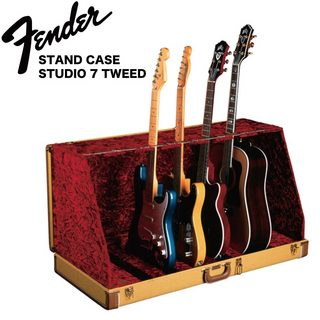 Fender Stage Seven Guitar Stand Case Tweed 7本立て ギタースタンド