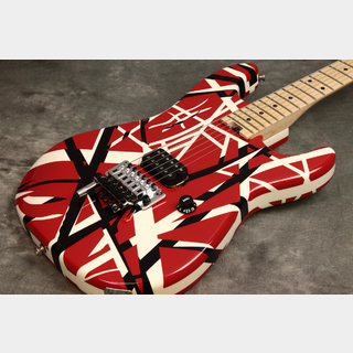 EVH Striped Series Red with Black Stripes 【新宿店】