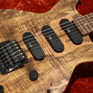 "Kz Guitar Works Kz One Solid 3S16 Kahler Spalted Maple ""Custom Line"""