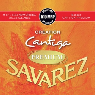 SAVAREZ510 MRP Normal tension CREATION Cantiga PREMIUM クラシックギター弦