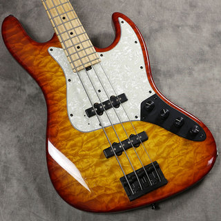 "Sadowsky TYO Modern Edge 4-Strings J Bass ""MG Quilt Maple Top"" Dark Cherry Burst -2014-【新宿店】"