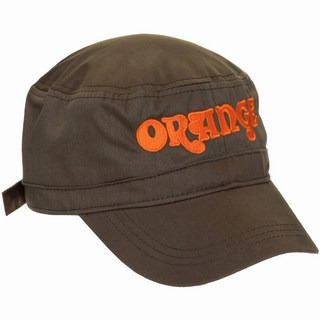 ORANGE Cadet hat with Orange motif Olive