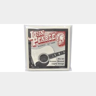 John PearseJohn Pearse ACOSTIC Set #200L BRONZE Light Gauge