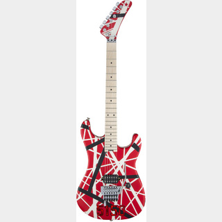 EVH Striped Series 5150 Red Black White Stripe Transparent Red イーブイエイチ 【MC津田沼店】