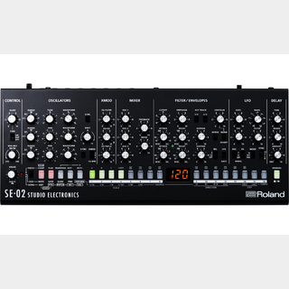 RolandSE-02  Analog Synthesizer  [Roland × Studio Electronics] ★1台限定箱ボロ特価