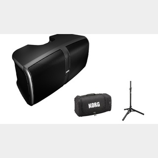 KORG KONNECT -PORTABLE STEREO PA SYSTEM- 3点セット【本体+スタンド+ケース】【新製品】