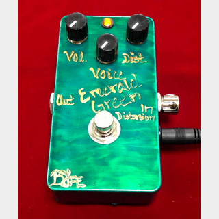 BJF Electronics Emerald Green Distortion Machine 【5月6日までGWセール特価】【在庫希少】【VOX系モデル】