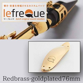 LefreQue Redbrass+goldplated 76mm