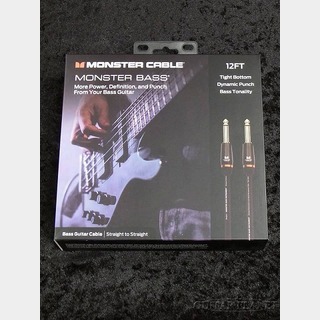 Monster Cable M BASS2 12ft (3.6m) S/S【ベース用シールド】【MONSTER BASS】