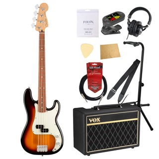 Fender Player Precision Bass PF 3TS エレキベース VOXアンプ付き 入門10点セット