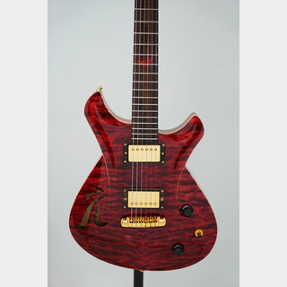 "Frank Hartung Guitars Enigma ""Red Spider Lilly"""