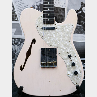 Fender Custom Shop ~2020 NAMM Show LIMITED #228~ 1960s Telecaster Thinline Journeyman Relic -S.Faded/Aged Shell Pink-
