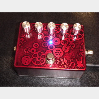 9OVERDRIVE9 Planet Nine Bass OD 【特注REDカラー】【ベースドライブ】[DM500]