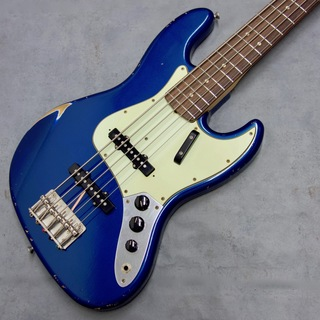 Fullertone Guitars JAY-BEE 60 5st MH Rusted / Lake Plasid Blue #1902250