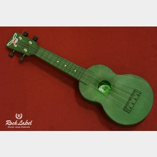 OUTDOOR UKULELE Soprano-Green Nickel