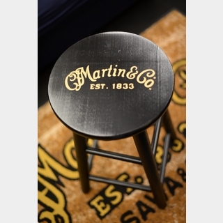 Martin 【Dr.Sound Martin 1833shop】Player Stool with Gold Logo (Black Finish)