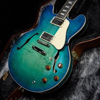 Gibson Memphis ES-335 Figured 2018 Aquamarine [半期決算セール対象商品]