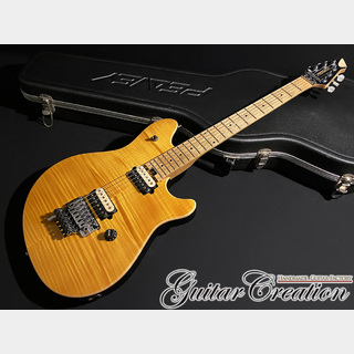 PEAVEY USA EVH Wolfgang Special FM #Transparent Amber 1990年代製【F.Maple/Basswood】3.39kg