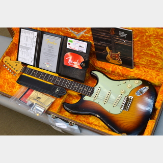 Fender Custom Shop 【別注オーダー品】Custom Built 1961 Stratocaster Relic ~Faded 3Color Sunburst~ #R105485 【3.43kg】