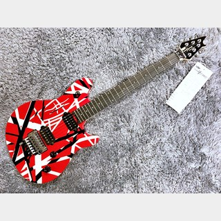 EVH Wolfgang Special Red with Black and White Stripes【2020年製】