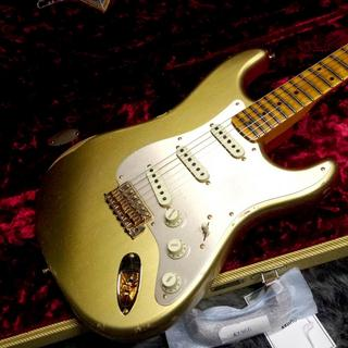 Fender Custom Shop Limited Edition 1957 Stratocaster GH Relic AGED HLE GOLD 【週替わりセール!】