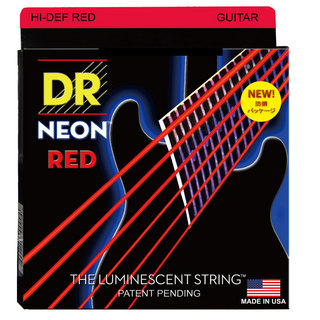 DRNEON HI DEF/E RED MEDIUM NRE-10 エレキギター弦×12セット