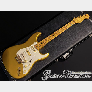 Fender Japan STD-57 Gold 1992年製【CUSTOM ORDER】w/ Yngwie Style Scalloped Fingerboard 3.43kg