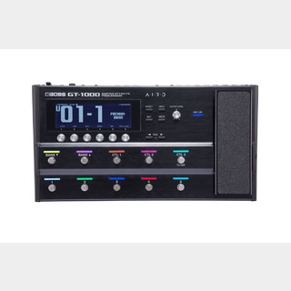 BOSSGT-1000 Guitar Effects Processor ボス マルチエフェクター 【U-BOX_MEGA_STORE】