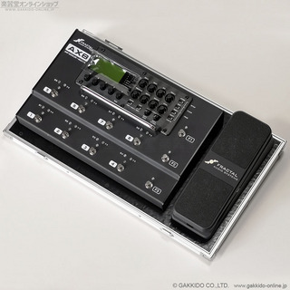 FRACTAL AUDIO SYSTEMS AX8 + EV-1 Expression Volume Pedal + ARMOR エフェクターボード/ケース