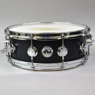"dw CL1405SD/SO/C Collectors Maple Ebony Satin 14""×5"" 【熊本パルコ店】"