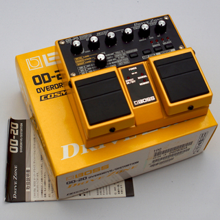 BOSS OD-20 OVERDRIVE/DISTORTION DRIVE ZONE