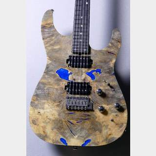 T's GuitarsDST-Pro24 Custom Natural【Buckeye Burl w/Resin / Ash】当店カスタムモデル!