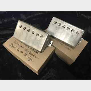 ARCANE Humbucker Buldozer Nickel Aged Cover set