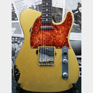 Fender Custom Shop MBS 1963 Telecaster Heavy Relic -HLE Gold over Black- by Todd Krause