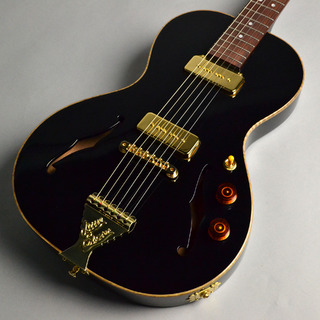 B&G Guitars LITTLE SISTER CROSSROADS P90、Non-Cutaway Midnight Ocean