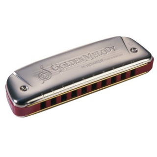 Hohner Golden Melody X 542/20X B♭ 10ホールハーモニカ