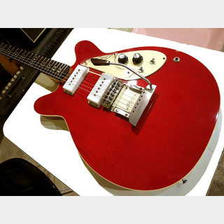 MICRO-FRETS MICRO-FRETS 1970 SPACETONE Style-3 Red Vintage