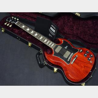 Gibson Custom Shop SG Standard Cherry Large Pickguard Pilot Run