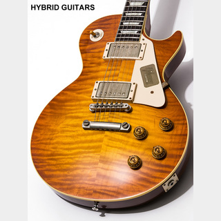 Gibson Custom Shop 1959 Les Paul Reissue Murphy Burst with Rolled Neck VOS BOTB page 90 2014