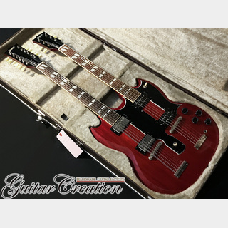 Greco SGW-1300 Cherry【JIMMY PAGE STYLE】Super Light Weight4.55kg!! w/Hard Case 1982年製