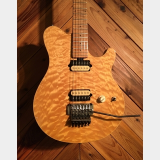 MUSIC MAN AXIS USA QUILT TOP NATURAL 1998