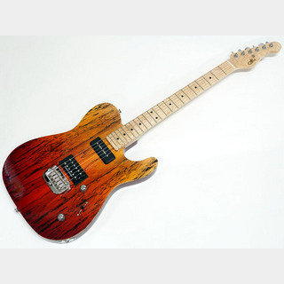 G&LCustom Shop ASAT Deluxe / Fire Fade / M 【OUTLET】