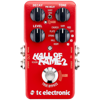 tc electronic HALL OF FAME 2 REVERB ※国内正規品 【6月22日入荷予定・予約受付中】