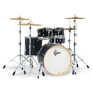 Gretsch CS1-E625S-ES [Catalina Special Edition 5pc Drum Kit / BD22, FT16, TT12&10, SD14 / Ebony Satin]