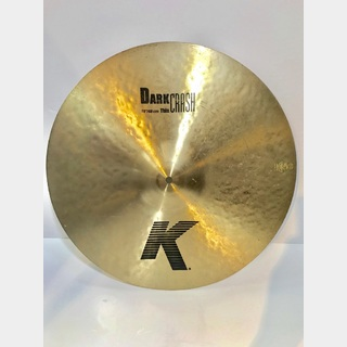 "Zildjian K 19"" Dark Thin Crash【中古品】"