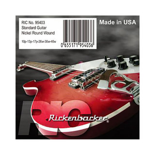 Rickenbacker Strings 95403 for Electric Guitar エレキギター弦×6セット
