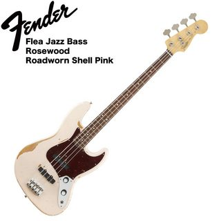 Fender Flea Jazz Bass RDWRN SHP エレキベース