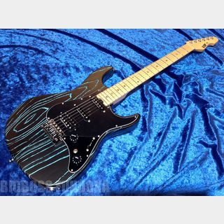 ESP SNAPPER-AS/M DRIFTWOOD 【Black w/ Blue Filler 】